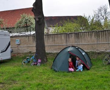Caravan Camp Nučničky by the Litoměřice